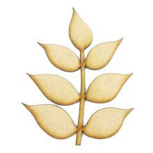 Ash Leaf cut from 3mm MDF, Craft Blanks, Shapes, Tags, Autumn Leaf